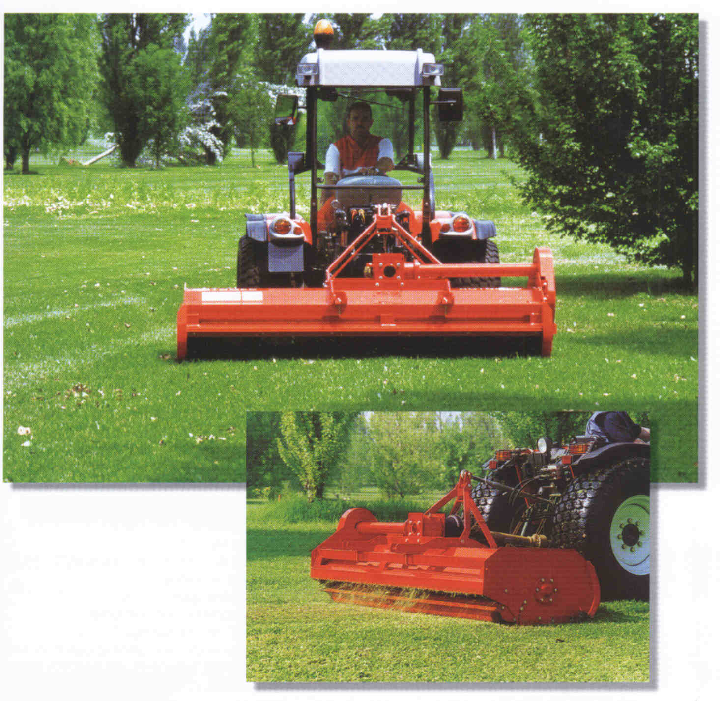 Hurricane H70 Tractor Mounted Flail Mowers