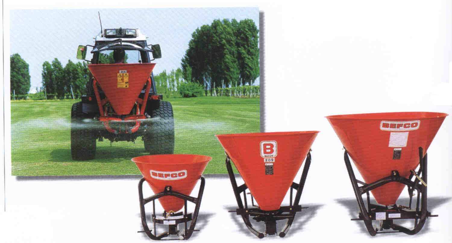 Hop 3 Point Mount Spreaders