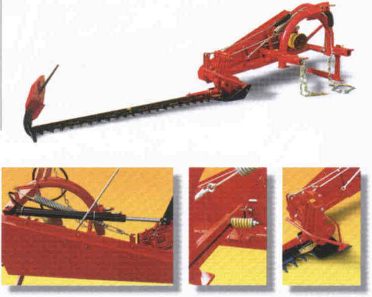 Tractor Mounted Sickle Bar Mower
