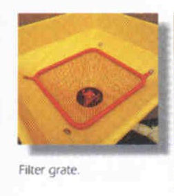 Filter Grate For 303 Series Models