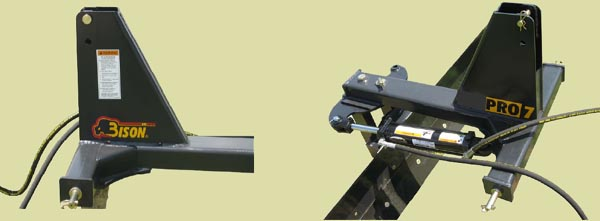 Manual Angle Standard - Optional Hydraulic Angle Shown