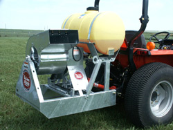 Three Point Hitch Mounted PTO Powered Models Available