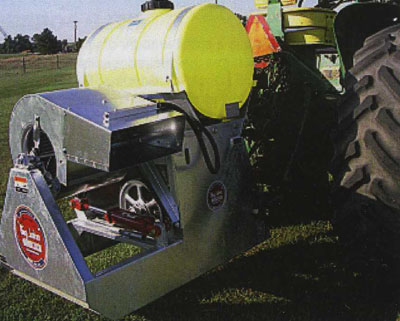 PTO Powered Three Point Hitch Mounted Mist Sprayer