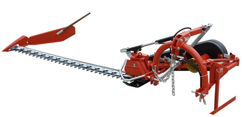 Tractor Mounted Sickle Bar Mowers With Hydraulic Lift Standard