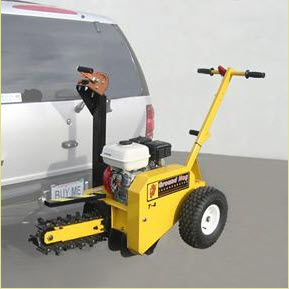 Bumper Carrier For Ground Hog Chain Trenchers