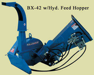 BX42 Series Equipped With The Hydraulic Feed Hopper Option