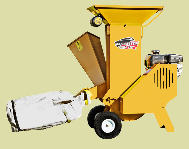BXMC32B Model Chipper/Shredder With Blower And Debris Bag