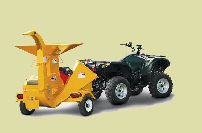 BXMT Series Engine Powered Chipper/Shredders (Models BXMT3209/3213)