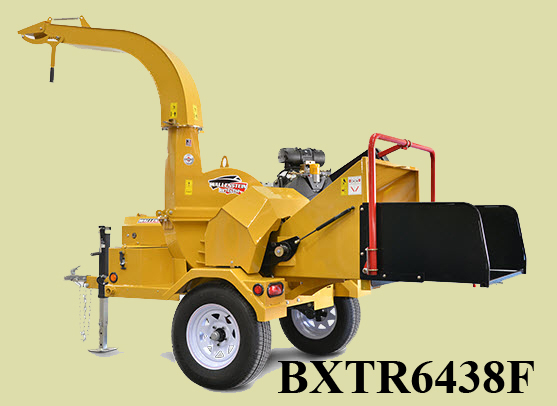 Model BXTR6438 Engine Powered Tow Behind Chipper