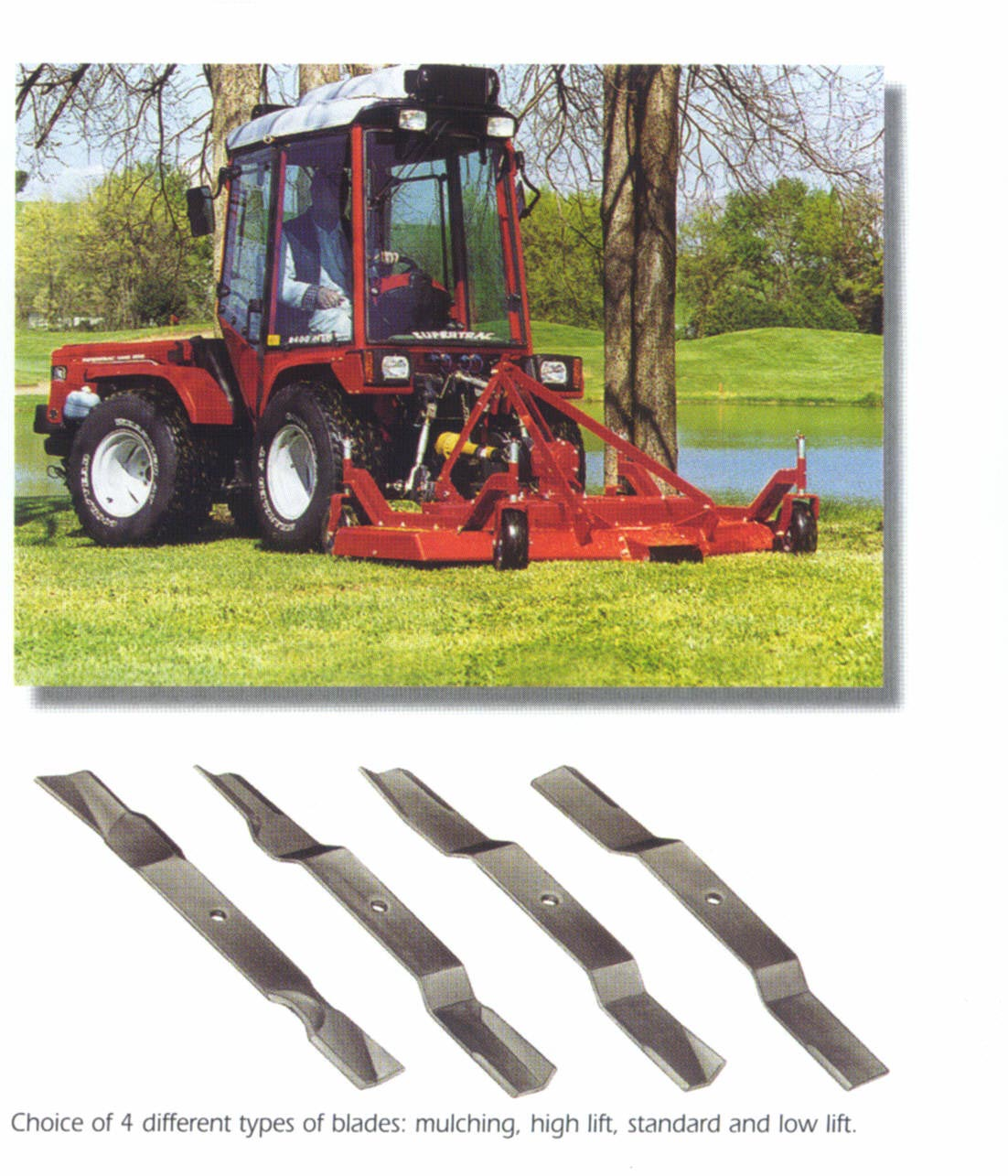 Cyclone C50 Series Tractor Mounted PTO Finish Mowers