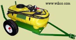 ATV Pull Behind Trailer Sprayers - Optional Boom Available