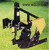 Three Point Hitch Mounted Single And Double Bottom Plow