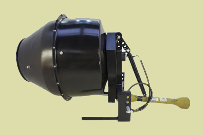 Bison PTO Tractor Mounted Cement Mixer 5 Cubic Ft. Capacity