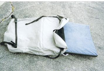 Optional Foam Cushion And Storage Bag - Use With or Without Standard Air Mattress