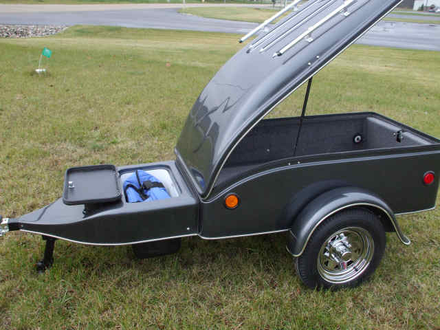 Motorcycle / Small Car Cargo Trailers