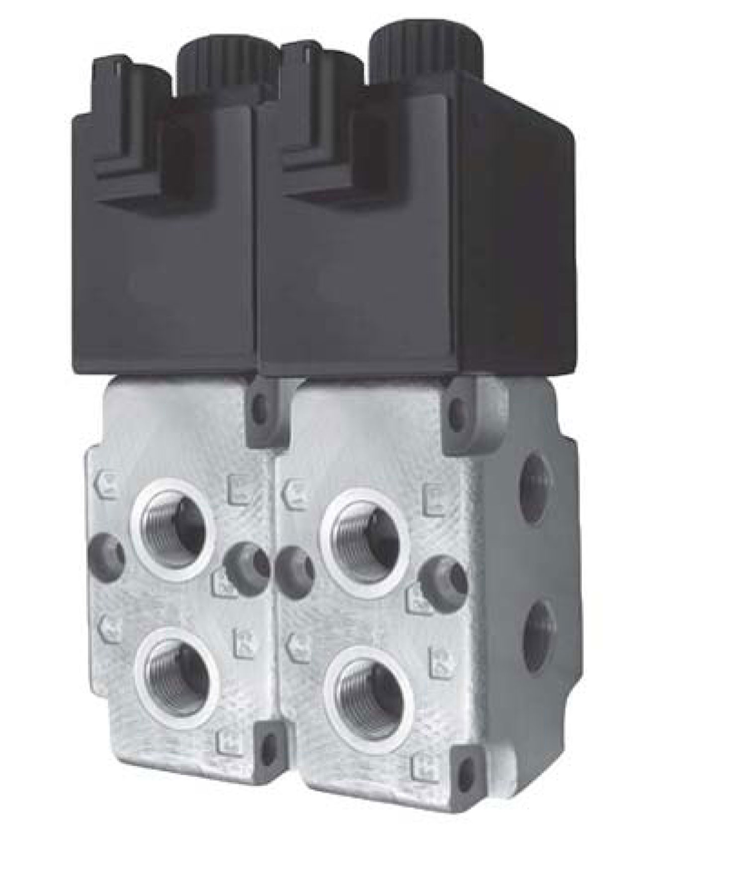Double Valve Kit - Kit Contains Two Stacked Valves 24 GPM Capacity And Fittings, Switch, Wiring Harness, And Brackets