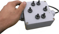 Control Box For Moving The Spades