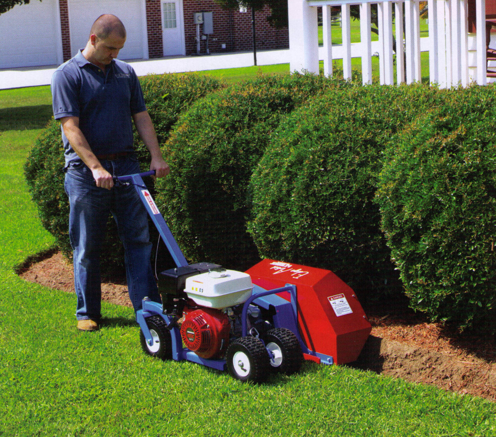 edger trencher machine
