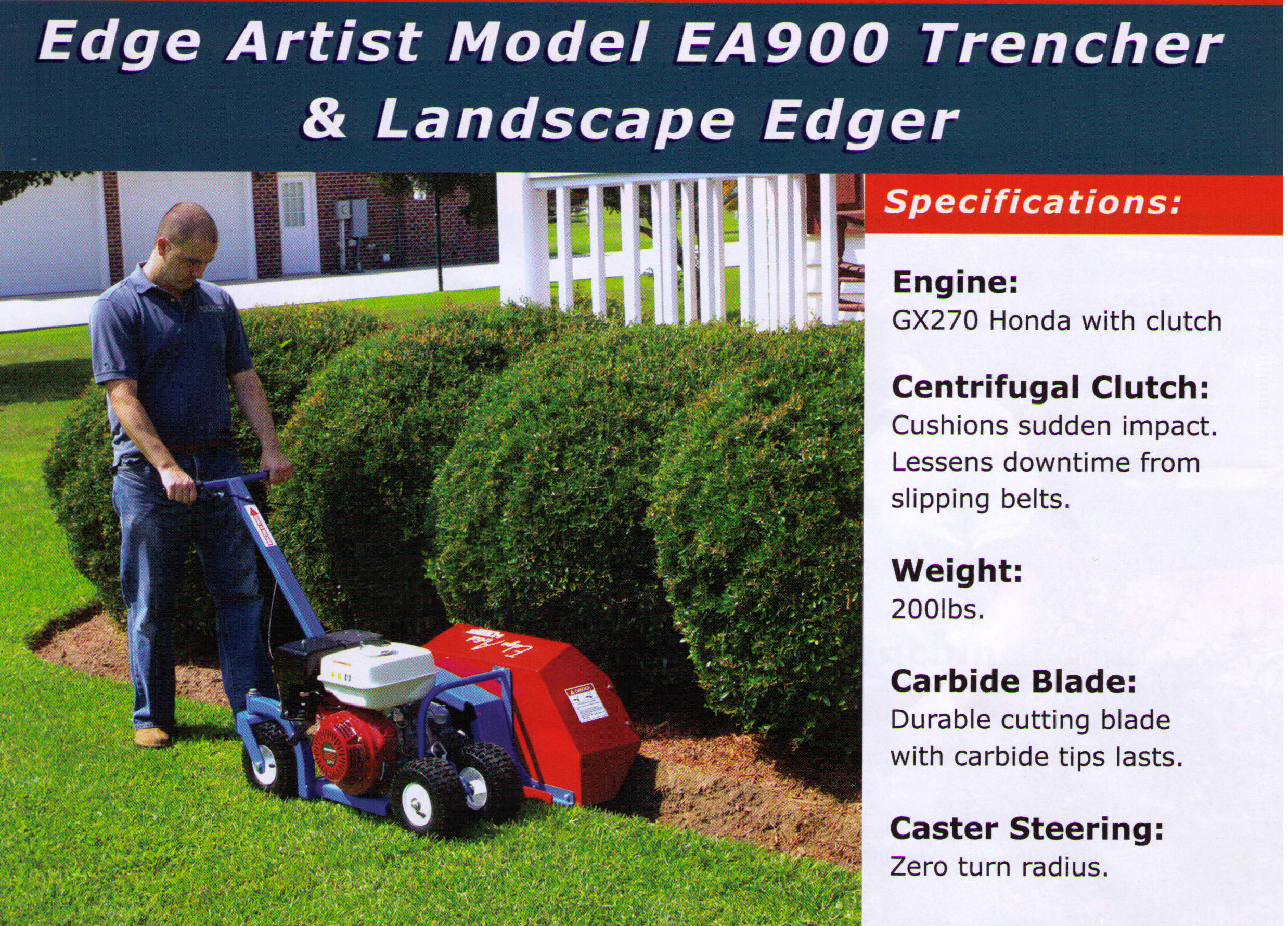 edge artist ea900 model landscape edger can define redifine landscape