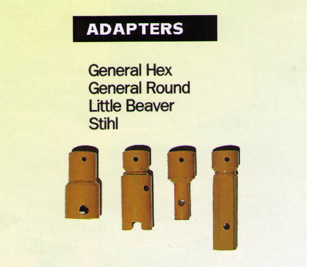 Adapters Available To Use Other Auger Bit Brands