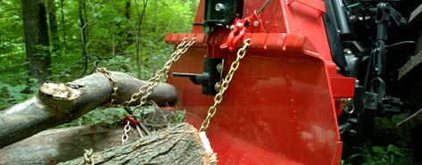 WLFX90 Skidding Winch In Use