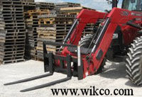 Pallet Forks For Skid Loaders And Tractor Loaders