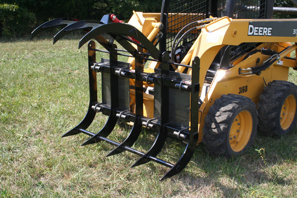 Mounts On Most Small To Medium Sized Skid Stee Loaders