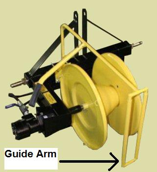 Optional Guide Arm To Roll Wire Evenly On Roller, For PTHWW and PTBBWW Winders