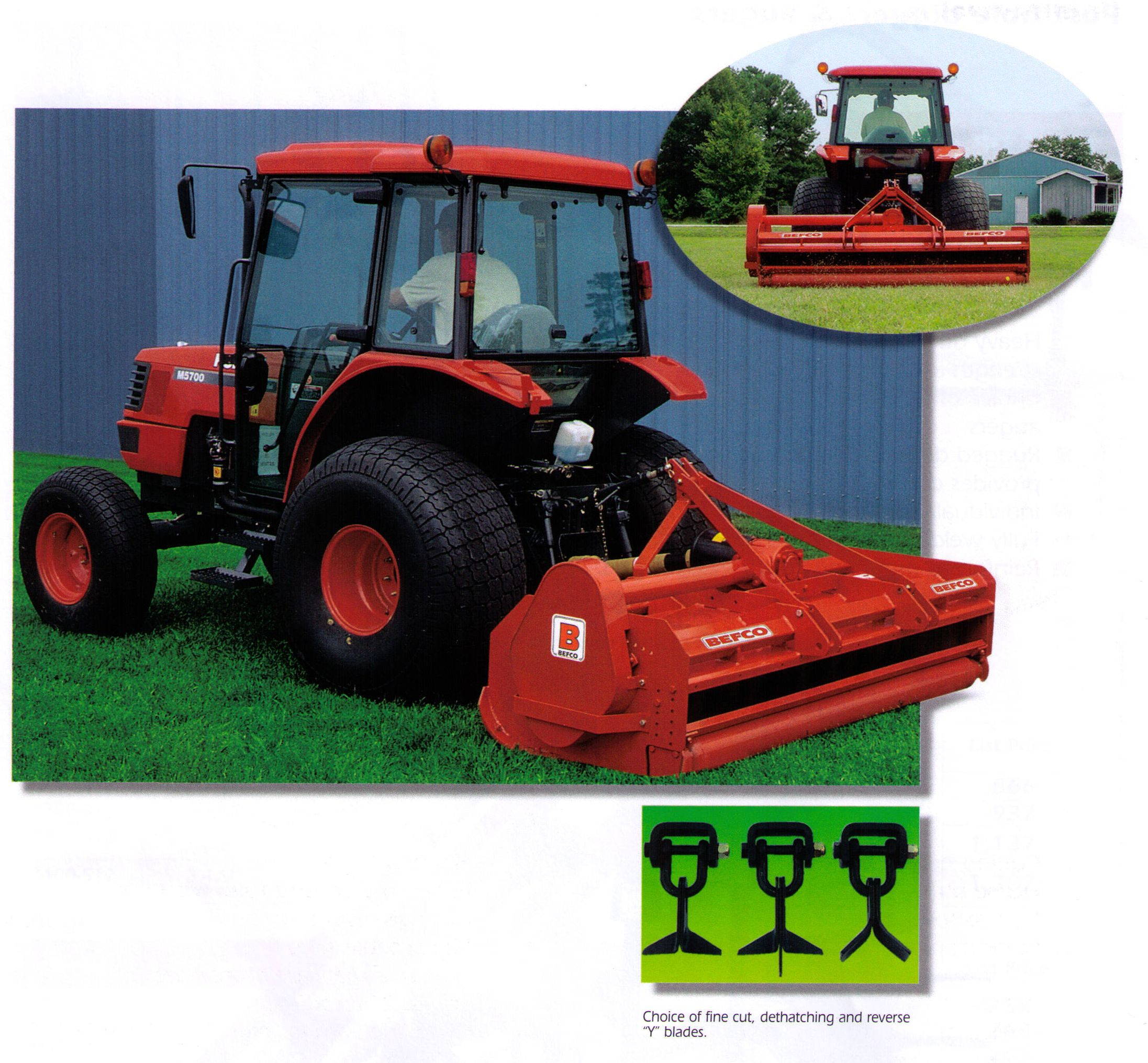 H80 Series Hurricane Finish Type Flail Mowers