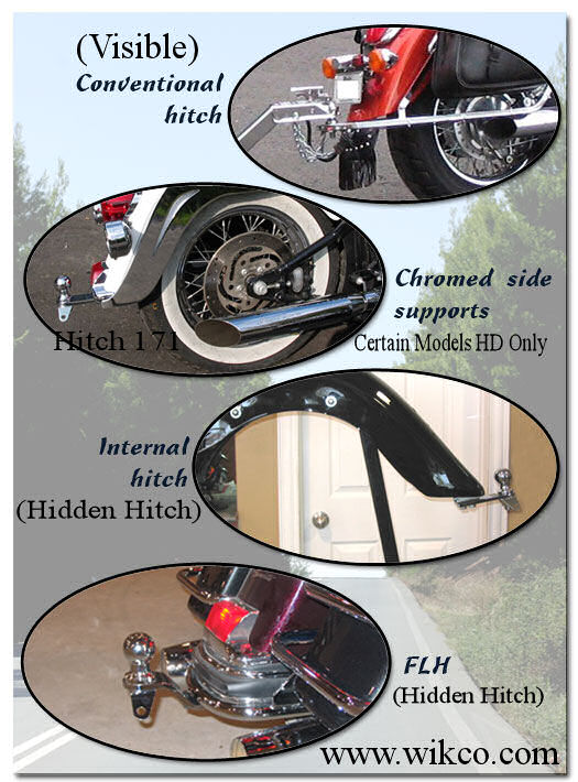 Motorcycle Trailer Hitches