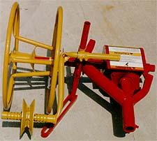 Tractor Drawbar Mounted, Pto Powered Wire Winder