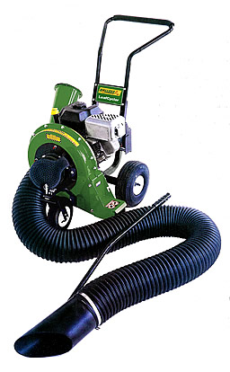LeafCycler Combination Chipper Shredder Leaf Blower And Lawn Vacuum
