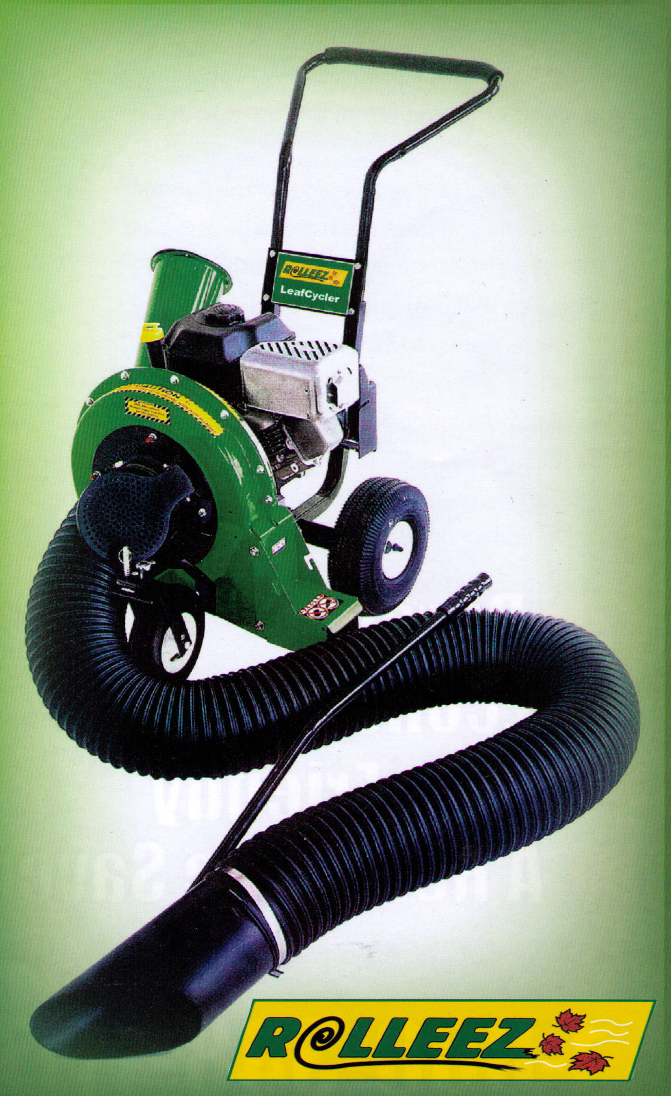 LeafCycler Combination Leaf Vacuum, Leaf Blower, And Chipper/Shredder