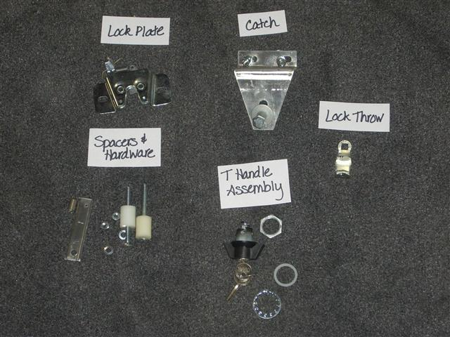 Replacement Lock Parts