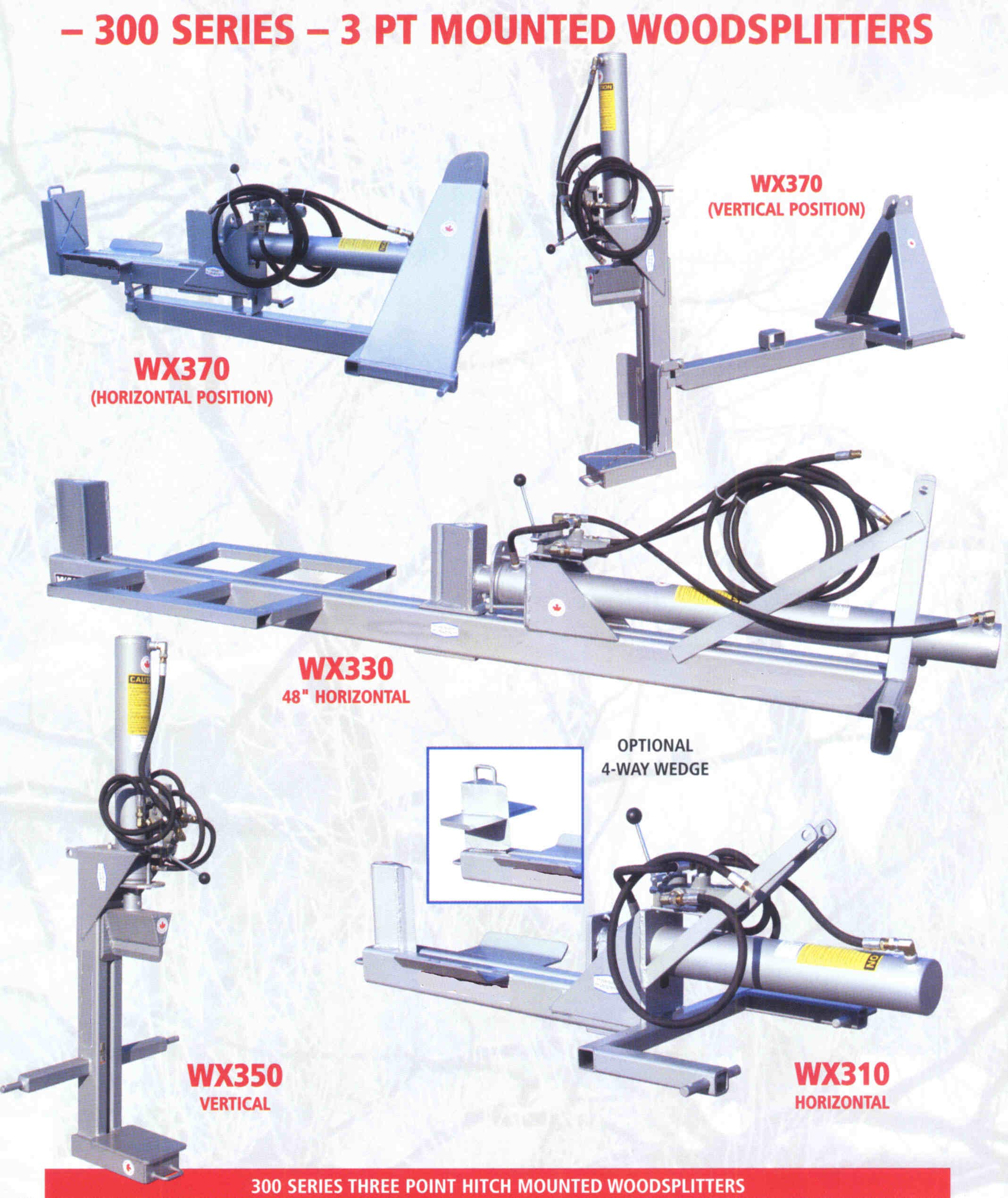 Three Point Hitch Mount Models