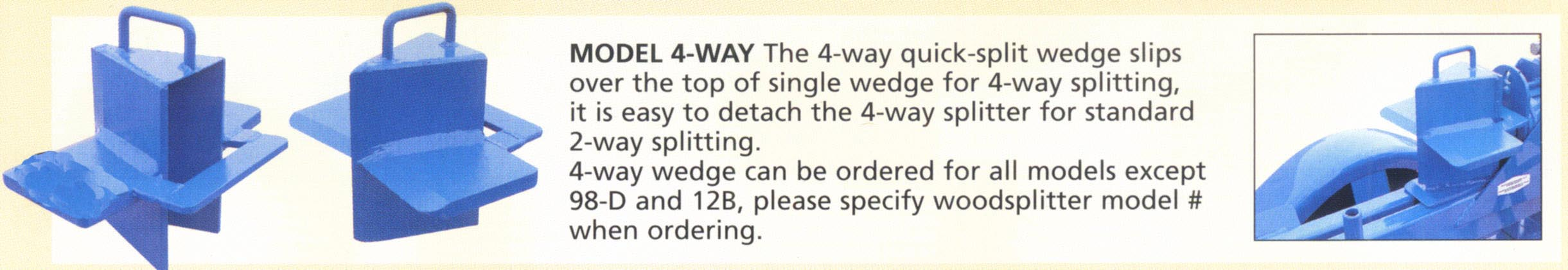 Four Way Wedge Accessory