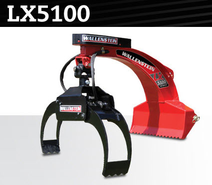 LX5100 Three Point Hitch Mount Hydraulic Log Grapple