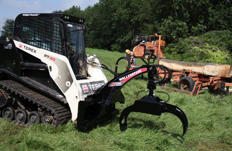 LX5300 Skid Steer Mounted Log Grapple