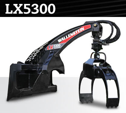 LX5300 Skid Steer Mount Log Grapple