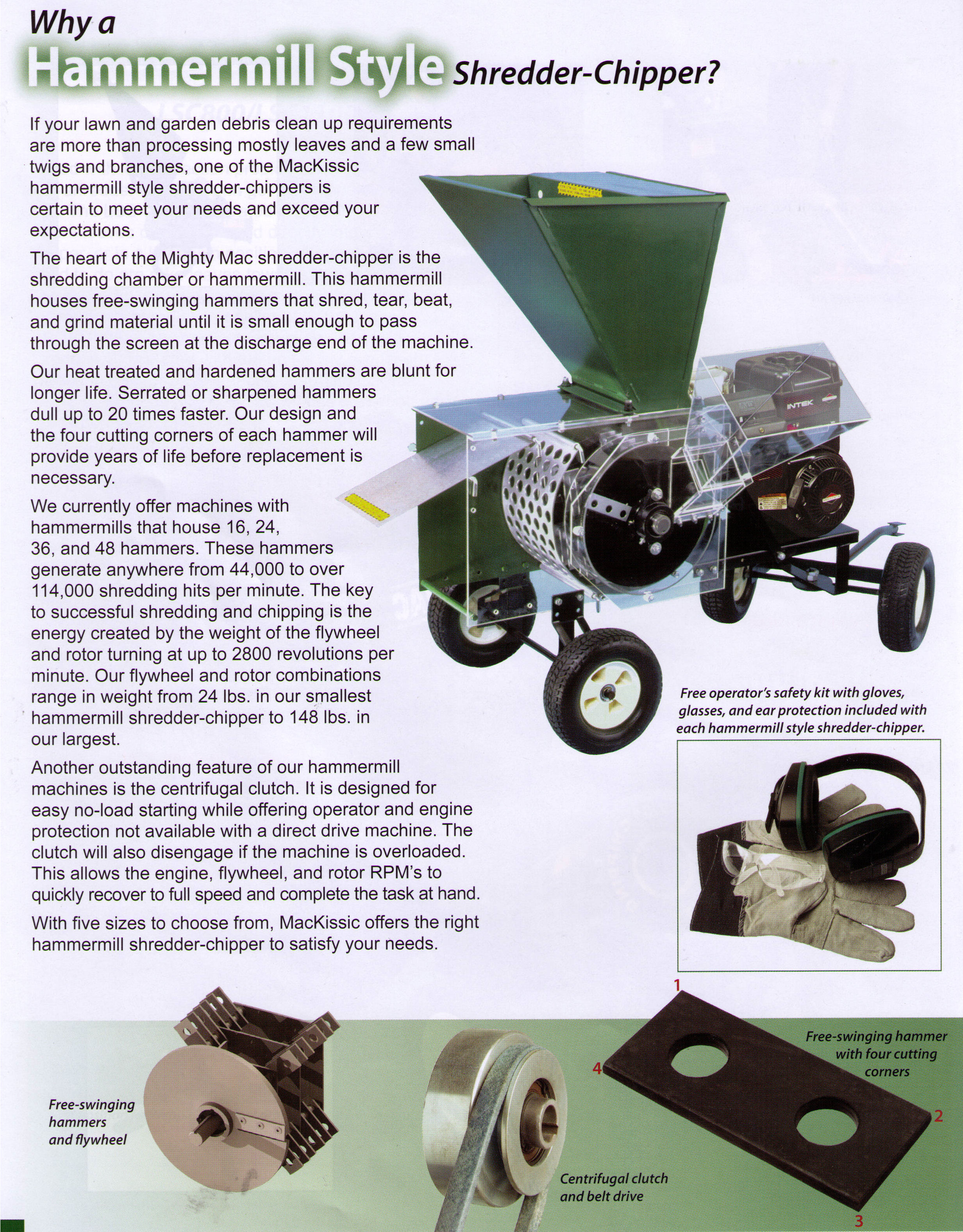 Brush Chipper Shredders Residential And Commercial Models