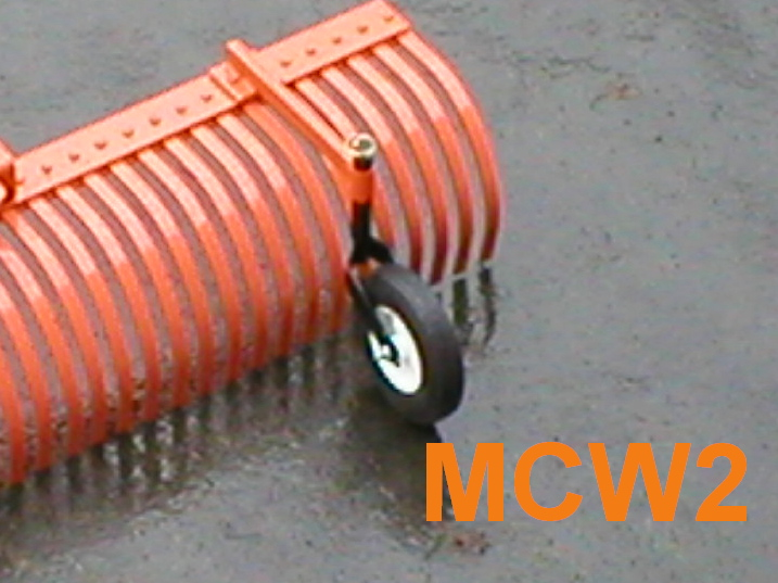 MCW2 Caster Wheel Set For the MR2 Series Three Point Hitch Model Rakes