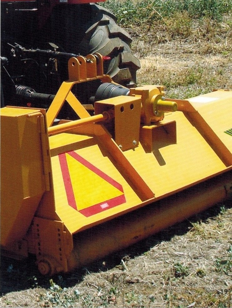Mighty Max Series Flail Mower For Tractors From Approximately 24 To 28 HP