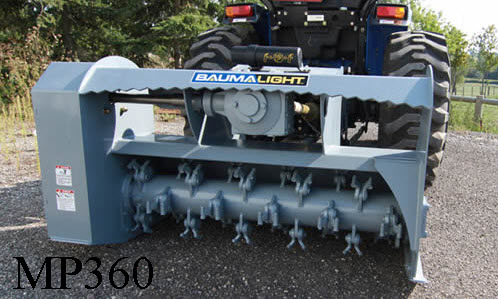 WLMP360 PTO Powered, Three Point Hitch Mount Brush Mulcher