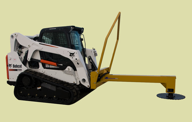 Skid Steer Mounted Hydraulic Powered Tree Saw