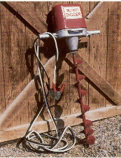 12 Volt DC Electric Earth Auger - Battery Cables Included, Auger Bits Optional - See Below