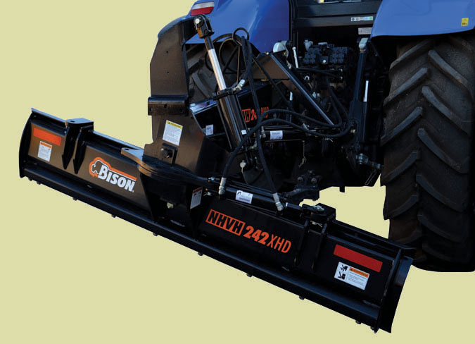 NHVH-XHD Series Tractor Blades For Tractors Up To 120 HP