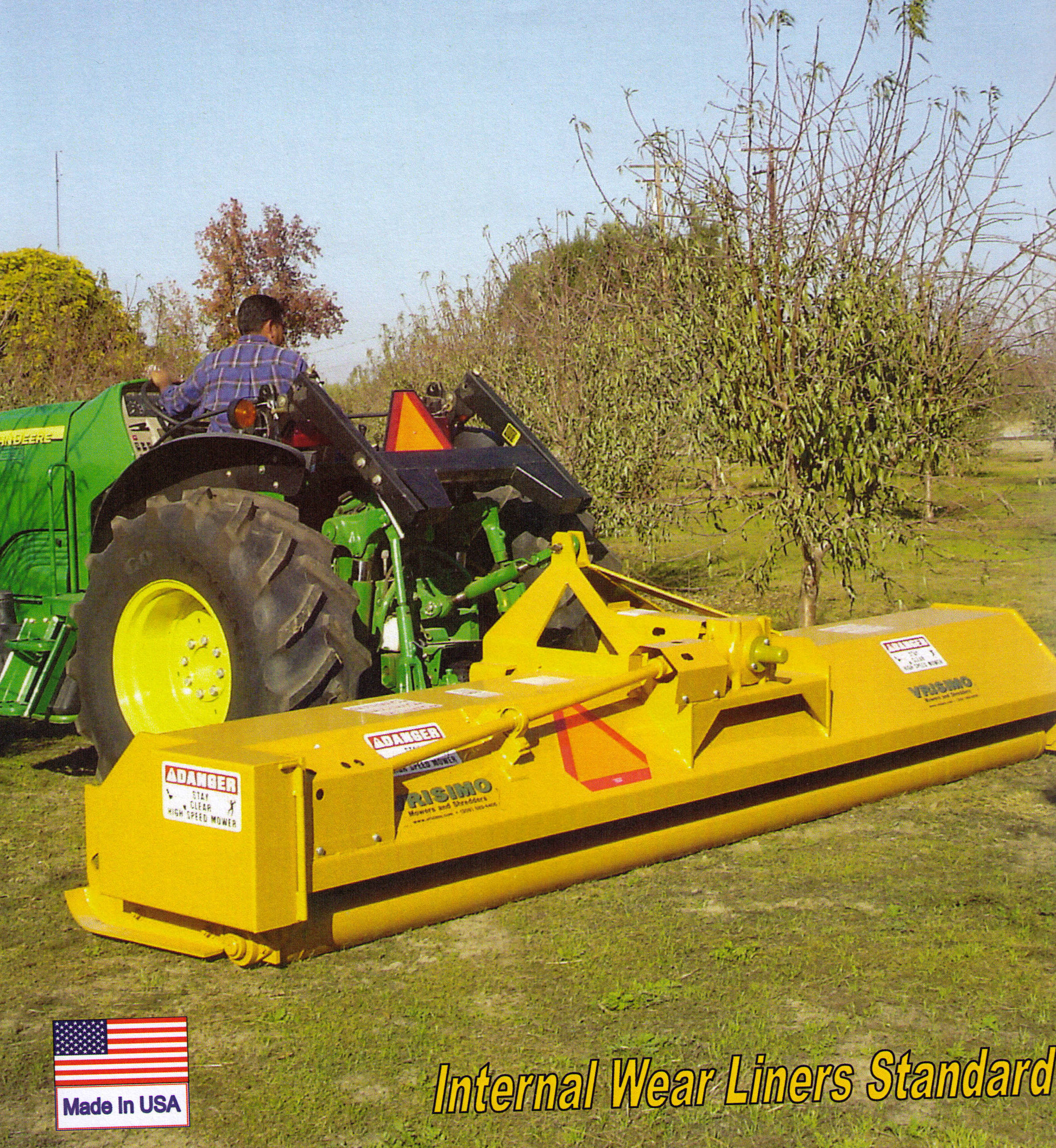 Vrisimo Orchard LP Series Flail Mower