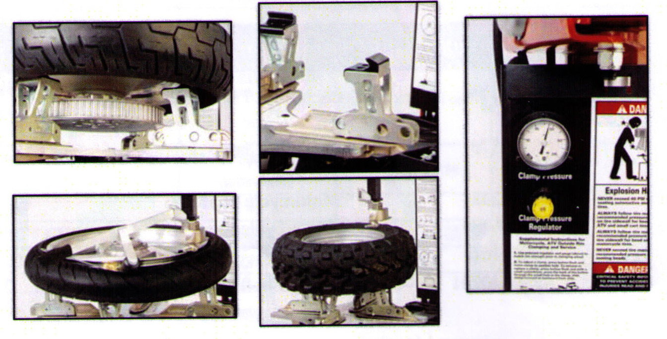 Features Of RC-150 Motorcycle Tire Changer