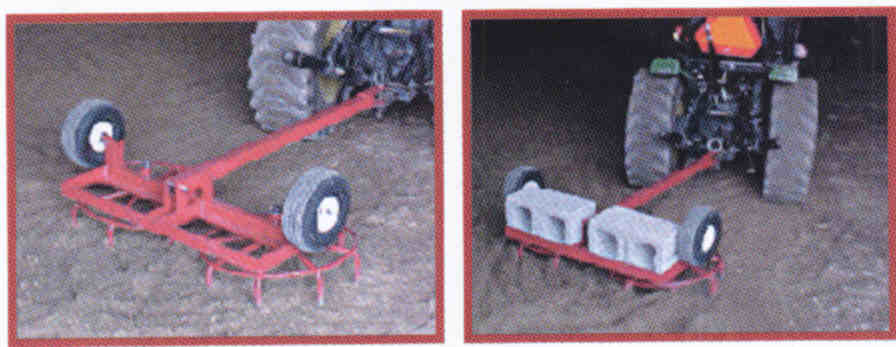 RC-4 - Four Ft. Rotary Harrow
