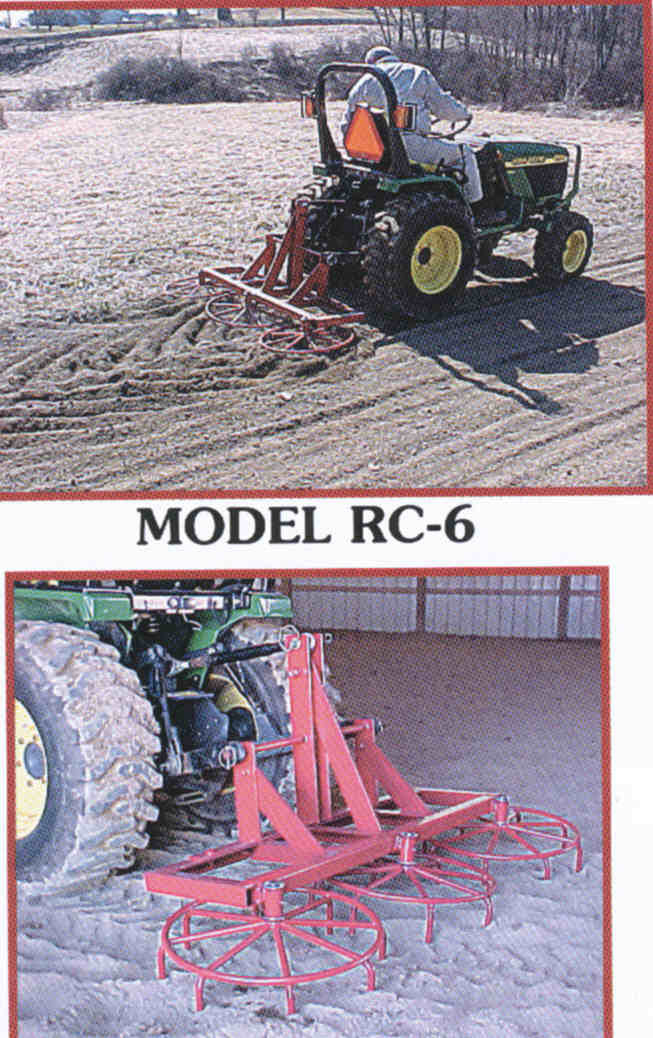 RC-6 - Six Ft. Rotary Harrow